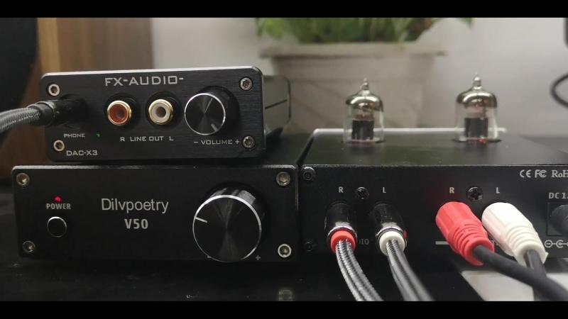 Dilvpoetry v50 audio amplifier