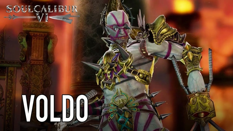SOULCALIBUR VI - PS4/XB1/PC - Voldo (Character announcement trailer)