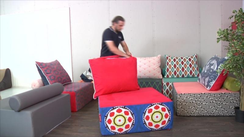 Что такое iQМебель? Мягкие диванные модули и блоки, съёмные чехлы из мебельных тканей, удобные подушки и валики-всё просто!