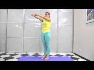 Йога против шейного остеохондроза. Упражнения для шеи.