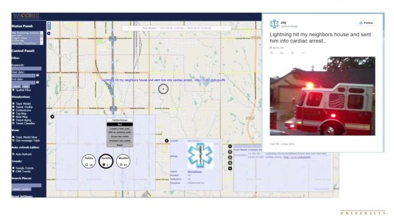 Мониторинг социальных сетей помогает координировать реагирование на чрезвычайные происшествия