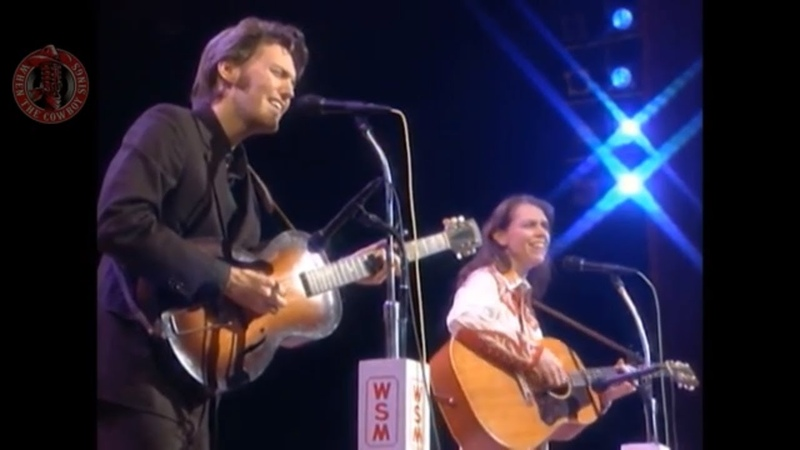 Gillian Welch and Dave Rawlings Long Black Veil Live On Grand Ole Opry