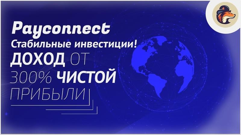 Payconnect - Стабильные инвестиции!