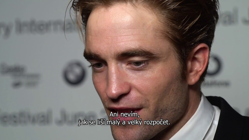 The Filmmakers @ KVIFF 2018: Interview with Robert Pattinson