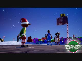 Get into the holiday spirit with Playgrounds2 and ball out on the new Ice-Cold Christmas P