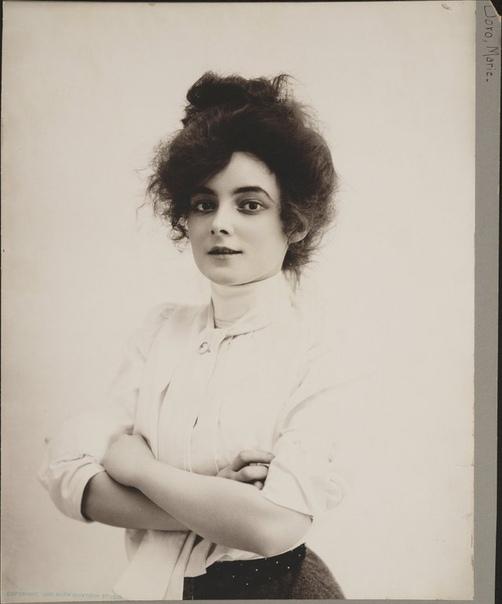 Американка Мари Доро, актриса немого кино.