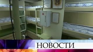 В Санкт-Петербурге представили новый фрегат «Адмирал флота Касатонов».