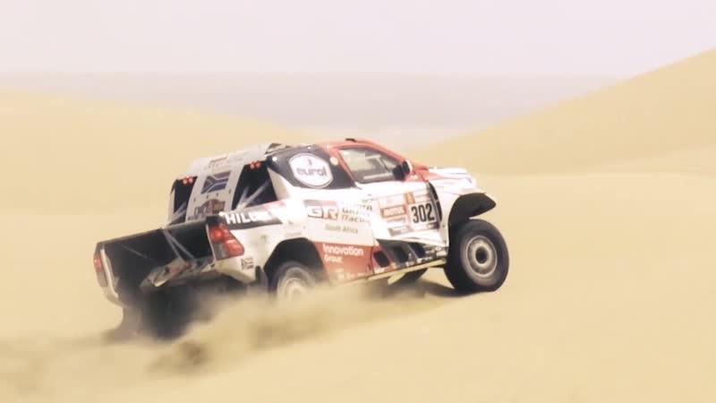 Нассер Аль-Аттия и его Toyota Hilux