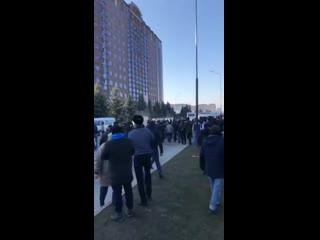 Попытка силового разгона митинга в Магасе, Ингушетия. утро 27 марта 2019 г.mp4