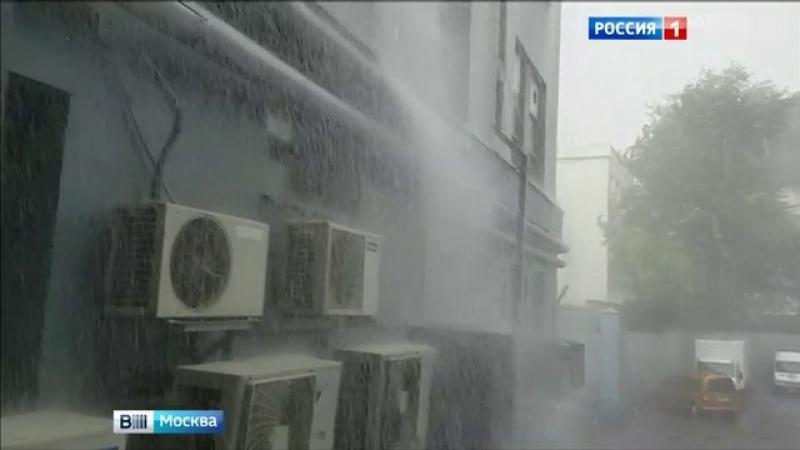 Вести-Москва • Июльская норма по осадкам в Москве перевыполнена на четверть