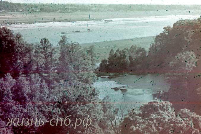 Каунас. Река Неман у Каунаса.