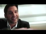Lucifer S03 E24- Chloe see lucifer devil face #savelucifer