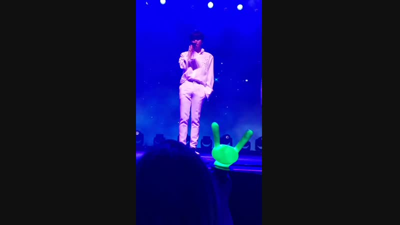FANCAM - 08.11.18 B.A.P 2018 FOREVER NORTH AMERICAN TOUR в Беркли