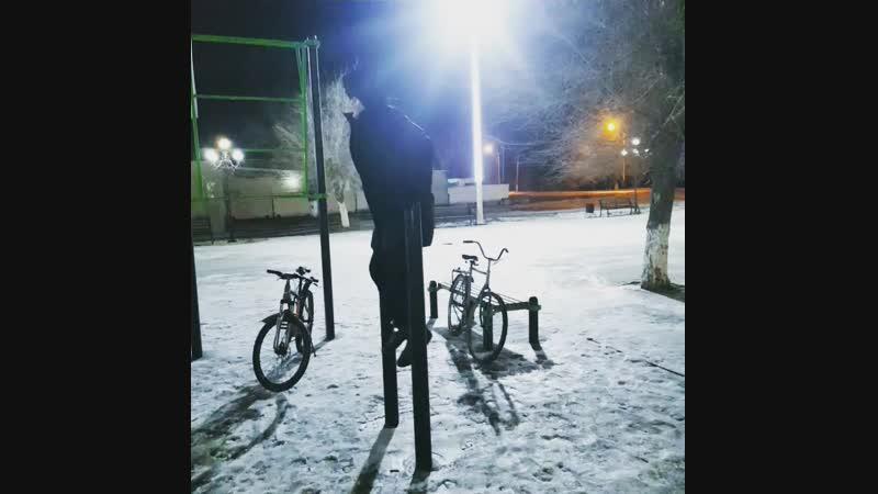 Тренировка💪🏽ночью🌃 Kazakhstan🇰🇿 Kyzylorda Tasbuget