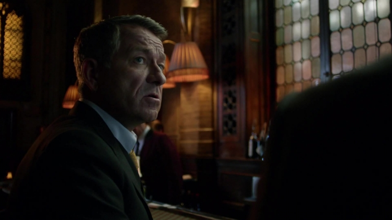 Диалог о селёдке (LostFilm). Альфред Пенниуорт и Люциус Фокс. Готэм(Gotham), s.2-e.2