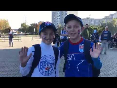 Атмосфера матча БГК им. Мешкова – «Барселона»