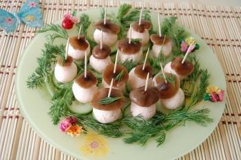 грибные закуски GJL70hbQVxU
