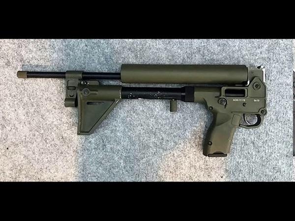 Самозарядный карабин под пистолетный патрон АСК-17-9
