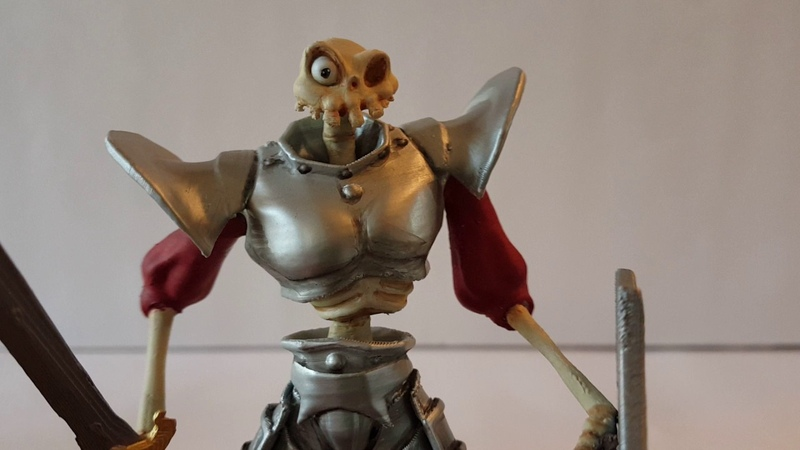Medievil Sir Daniel Fortesque statua