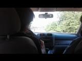 Holden's driving