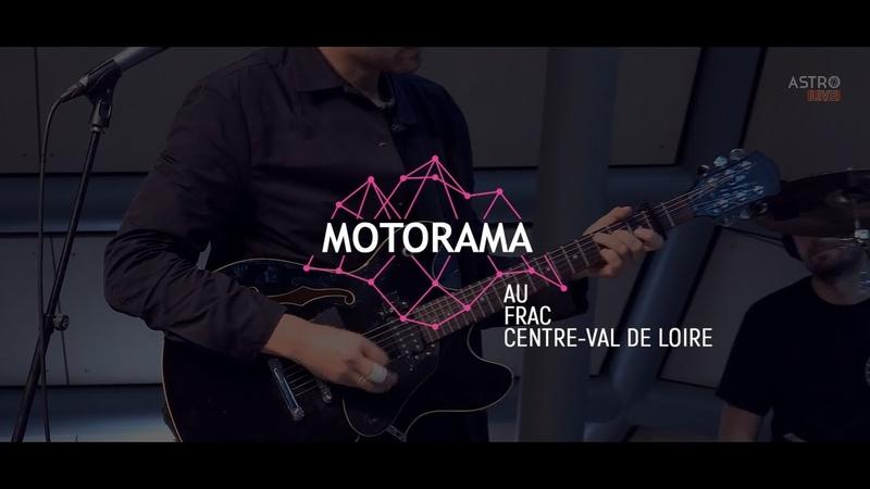 MOTORAMA SHOWCASE LIVE @ FRAC CENTRE VAL DE LOIRE
