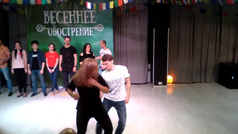 Сергей и Мария Финал VSOP JnJ Весеннее Обострение 2019