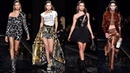 Hailey Baldwin Gigi Hadid Emily Ratajkowski and Kaia Gerber strut the Versace runway in NYC