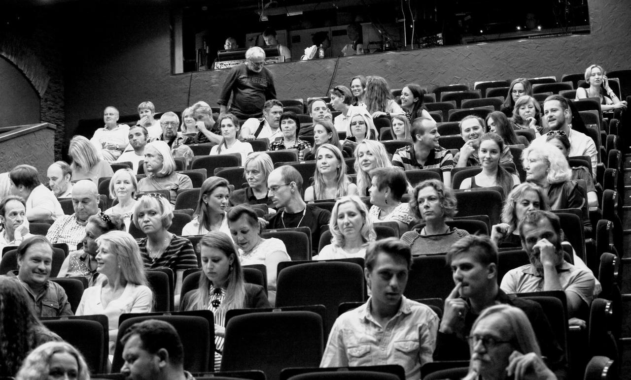 """Сбор труппы театра """"У Никитских ворот"""" 14 августа 2018 г."""