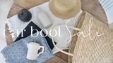 Home Decor Car Boot Sale Finds and Styling