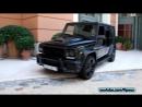 700HP Brabus Mercedes G63 sound