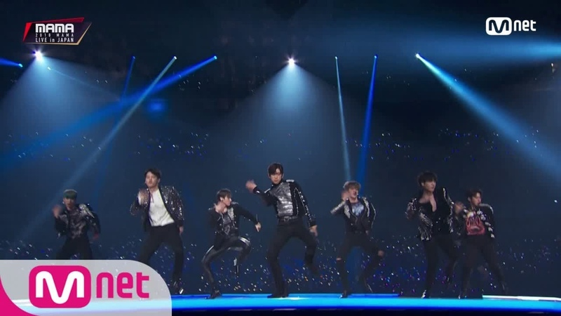 MONSTA X(WONHO, KIHYUN, MINHYUK, IM) GOT7(JB, YUGYEOM, JINYOUNG)_FANTASTIC BABY / BIGBANG│2018 MAM