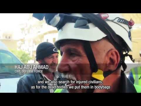 White Helmets describe SAA bodies as trash