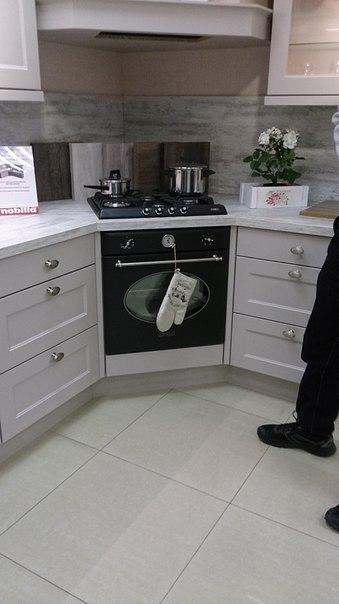 Как лучше сделать кухню в углу