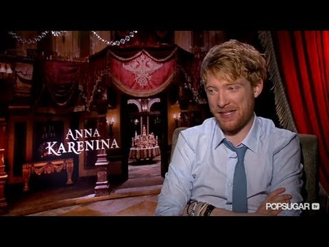 Domhnall Gleeson on His Anna Karenina Character: It's Easy to Get on His Side