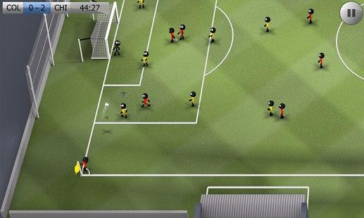 Скачать Stickman Soccer для android