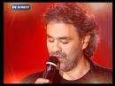 Andrea Bocelli et Gregory Lemarchal - Con te partiro (Star Academy - 2004)