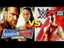 WWE Smackdown VS Raw 2009Finishers VS WWE 2K15 Finishers Comparison👏😍WHO IS THE BEST 👏😍