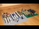 Обзор на коллекцию минифигурок LEGO Star Wars 1 Галактическая Республика и Сепаратистский Альянс