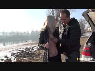 [czechhitchhikers] nikka slutty - blonde fucked in the mud [ new porn, sex, blowjob, 2018, hd ]