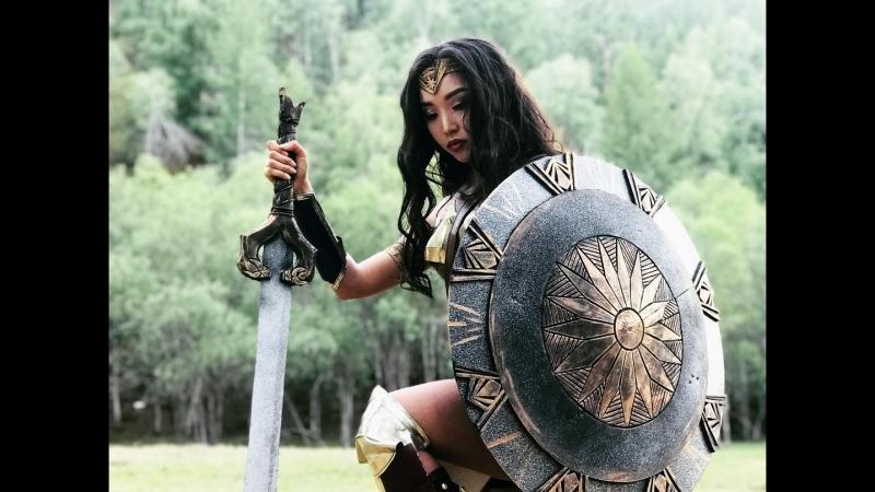 Чудо-женщина (монгольская реклама)