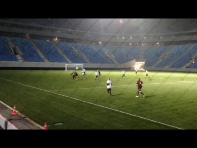 Первый матч на Зенит-Арене прошел между командами генподрядчика и субподрядчиков