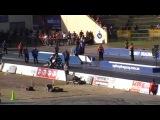Chris Matherson Top fuel bike crash at 230+mph...Nitro Champs WSID 2013.