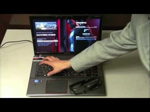Видео обзор ноутбука Toshiba Qosmio X875