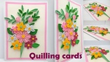 Quilling How to make a Birthday gift Greeting card