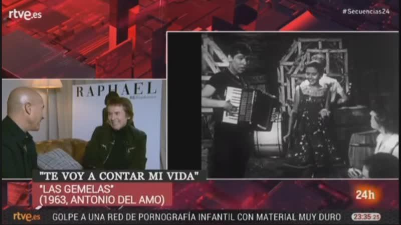 Рафаэль в программе Secuencias en 24 horas.16.11.2018.