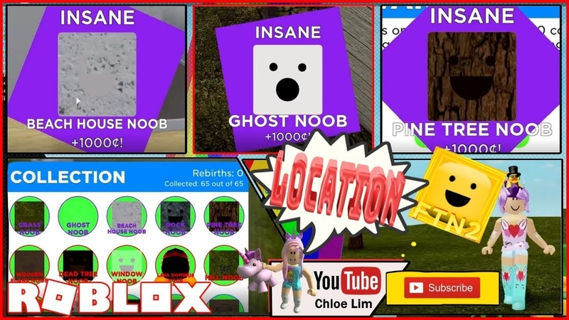 Roblox Find the Noobs 2! Location of all 65 NOOBS! Loud Warning!