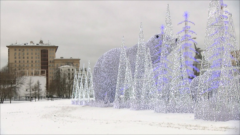 Арктический циклон принесет вЦентральную Россию сильные морозы ветер и температурное дно