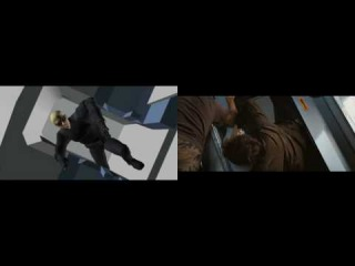 Особо опасен / Wanted (2008) - превизуализация спецэффектов