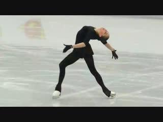 Alina Zagitova Practice European 2019 1 22