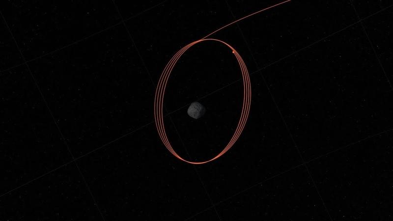 OSIRIS-REx Begins Orbiting Asteroid Bennu